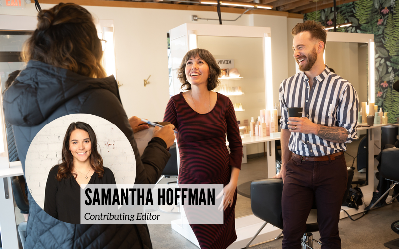 Samantha Hoffman, contributing editor for Aveda Institute Portland blogs interviewed the owners of portland salon harris harper