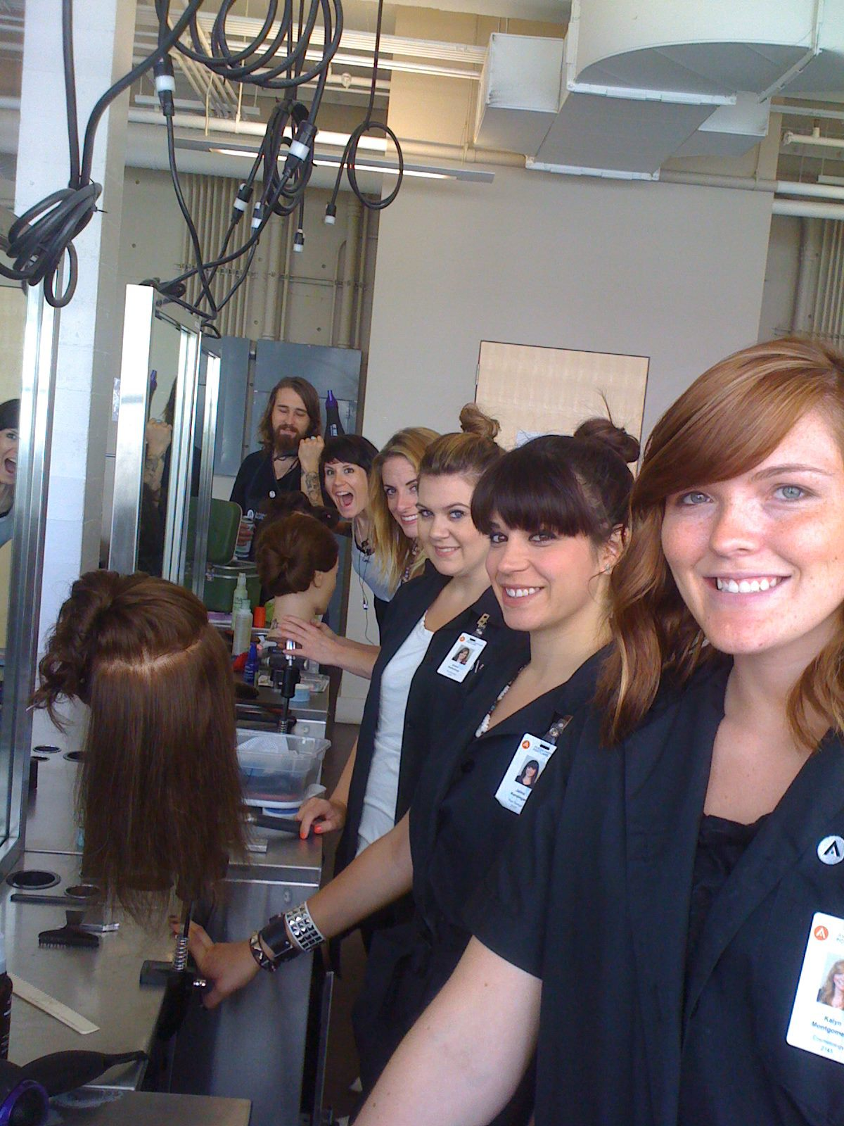 students, beauty, school, cosmetology, hair