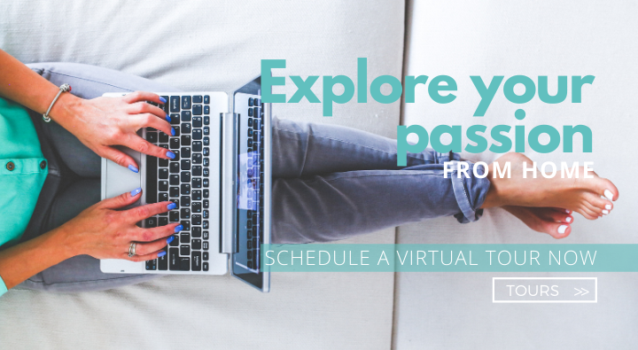 Find your next career from the comfort of your couch. Now offering tours virtually!