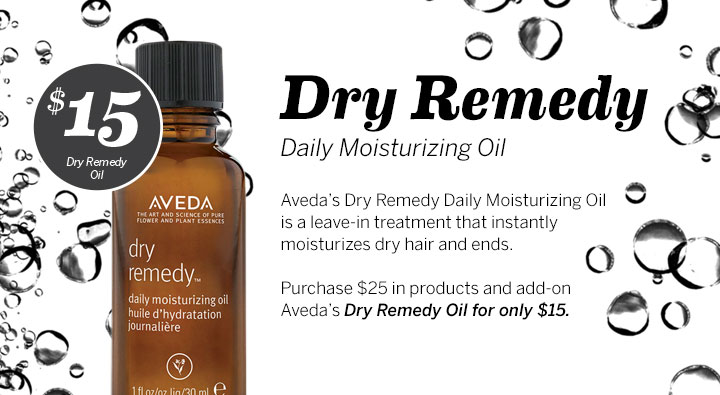 $15 Dry Remedy Daily Moisturizing Oil, Aveda Institute Portland