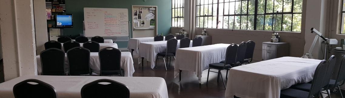 Spa Classroom, Aveda Institute Portland