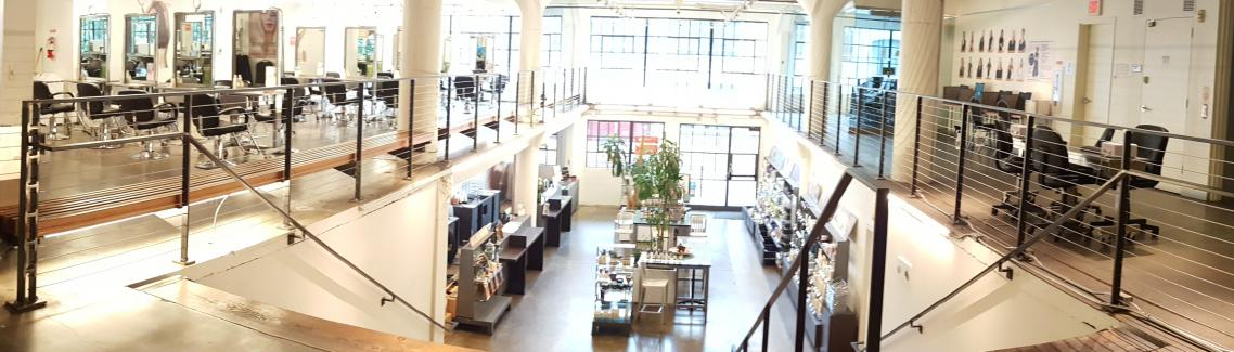Pearl Campus, Lobby, Aveda Institute Portland