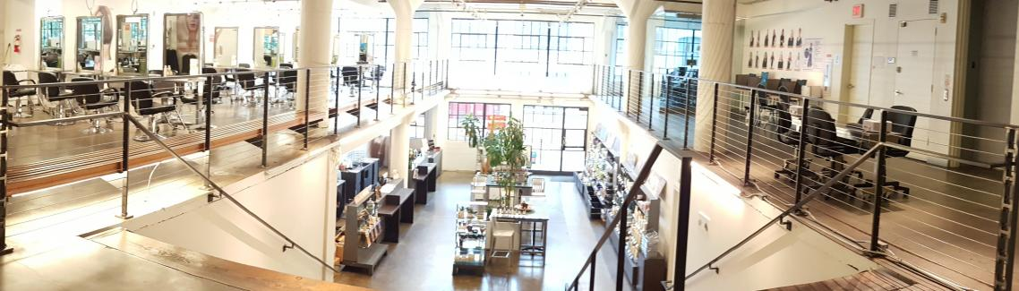Clinic Floor, Aveda Institute Portland