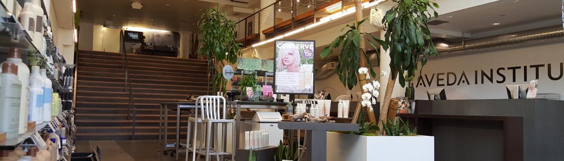 Lobby, Aveda Institute Portland