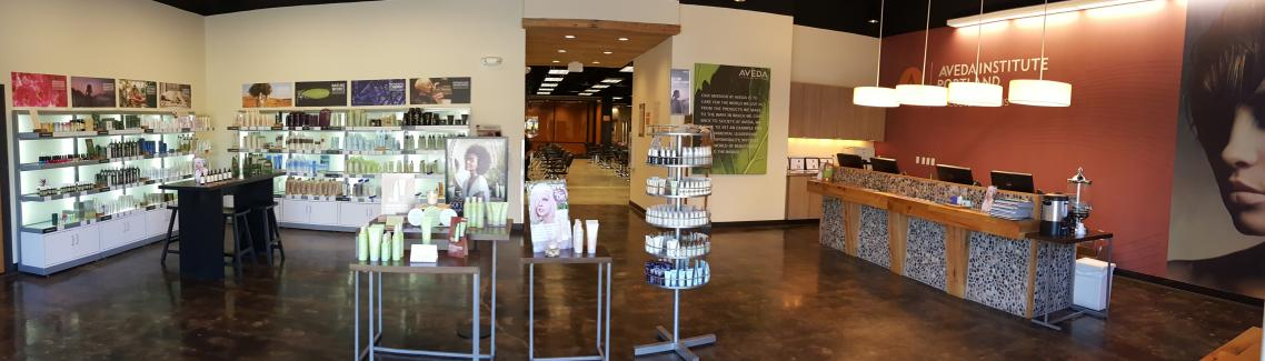 Experience Center, Aveda Institute Portland Vancouver Campus
