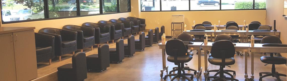 Nail Room, Aveda Institute Portland Vancouver Campus