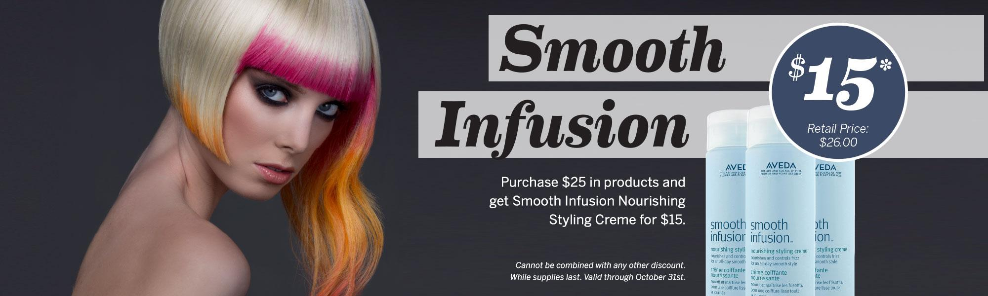 Aveda Institute Portland - $15 Smooth Infusion