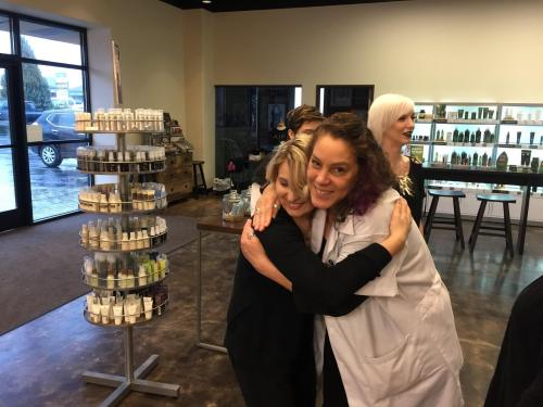 Aveda Institute Portland, Having Fun with Student