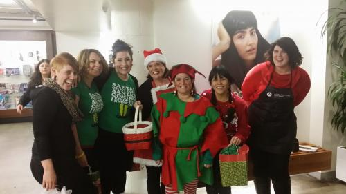Aveda Institute Portland, Ugly Sweater Day
