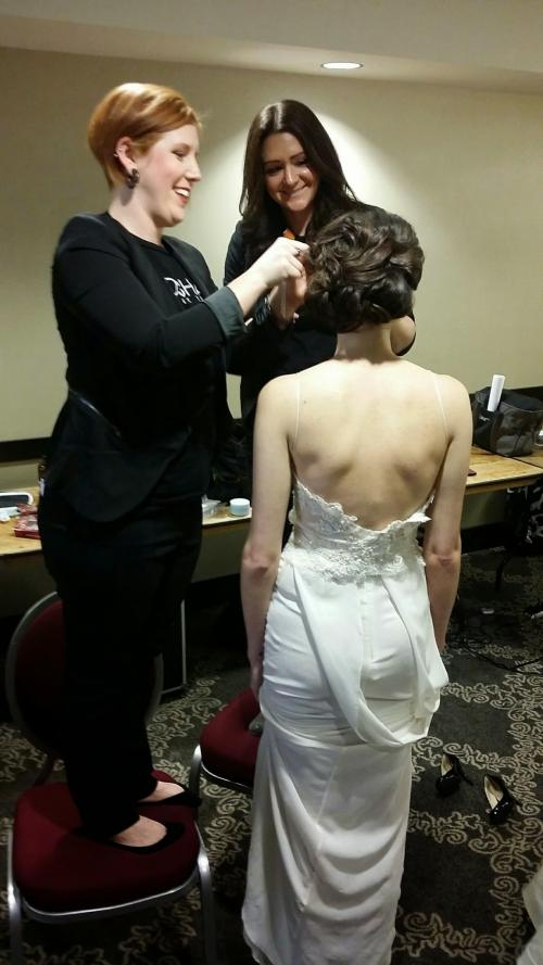 Dosha Bridal Elite, updos, rocked