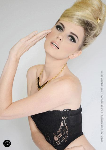 Hair, makeup, Editorial, Aveda Institute Portland, Dosha Salon Spa