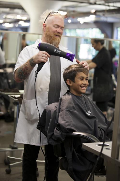 Boys Cut, Aveda Institute Portland