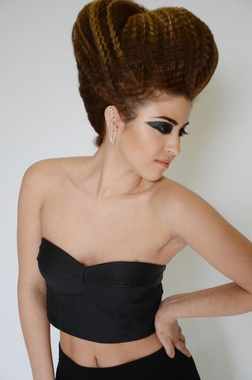 Beehive, hair, Aveda Institute Portland, Dosha Salon Spa, editorial