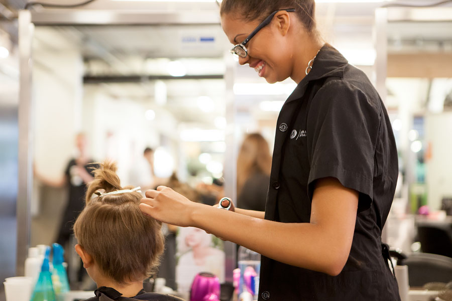 Over 500 Students Are Going Back To School Looking Fresh Aveda